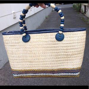 Vintage Unique Straw Bag